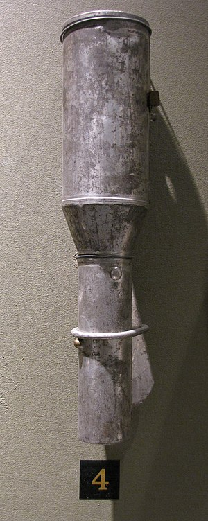 Model 1914 grenade - Russian model 1914 stick hand grenade