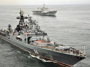Russian navy anti-submarine ship Severomorsk.jpg