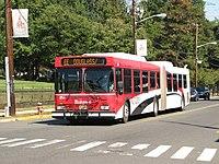 Rutgers Inter-Campus shuttle bus