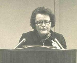 Ruth Patrick - Patrick in 1976