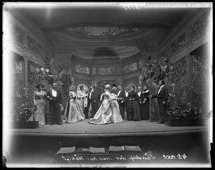 Sällskap där man har tråkigt, Dramatiska teatern 1901. Föreställningsbild