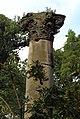 Säule 2 der klassizistischen Portikusanlage Alten Tonhalle (Neorenaissancebau 1880 bis 1892) im Malkastenpark, Düsseldorf.JPG