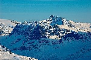 Trollheimen - Image: Såtbakkollen From Vassnebba