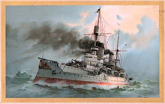 SMS Kaiser Friedrich III - Image: S.M. Linienschiff Kaiser Friedrich III