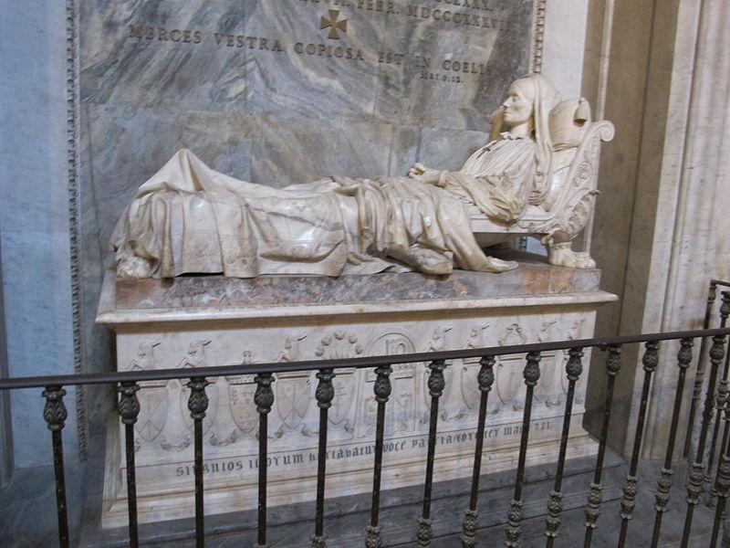 Archivo: S.  croce, tomba della condesa Sofia Zamoyska di Lorenzo Bartolini (1837-1844). JPG