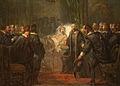 SA 5136-Anno 1647. Frederik Hendrik voelt zijn einde naderen en neemt afscheid van de Staten.jpg