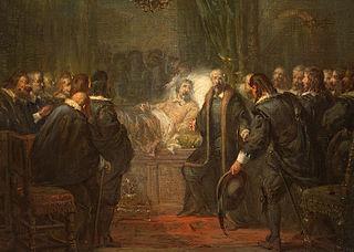 Anno 1647. Frederik Hendrik voelt zijn einde naderen en neemt afscheid van de Staten