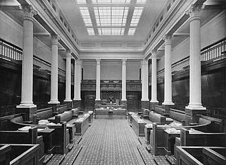 South Australian Legislative Council - The Legislative Council chamber circa 1939