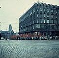 SKPn vappumarssikulkue Kaivokadulla 1.5.1960.jpg