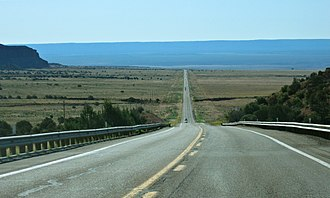 Mohave County, Arizona - State Route 389 in Mohave County