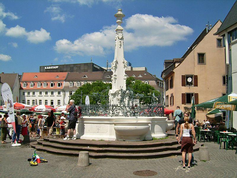 File:Saarbrücken St Johanner Markt Brunnen.jpg