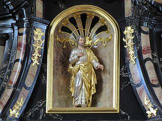 Immaculée Conception, Saint-Joseph (?), Sainte-Marguerite, Sainte-Marie-Madeleine