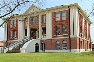Sabine County, Texas - Image: Sabine county tx courthouse 2015