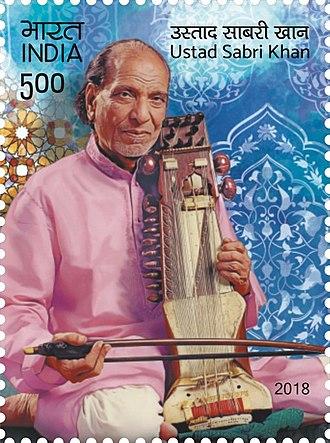 Sabri Khan - Sabri Khan on a 2018 stamp of India