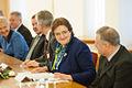 Saeimas priekšsēdētājas Ināras Mūrnieces darba vizīte Lietuvā (15896272632).jpg