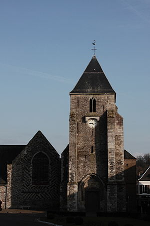 Saint-Valery-sur-Somme - The church at Saint-Valery