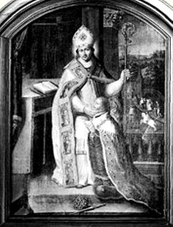 Saint Marcouf Abbot of Nantus in the Cotentin