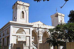 Timeline of Saint-Louis, Senegal - Image: Saintlouis mosquée 2