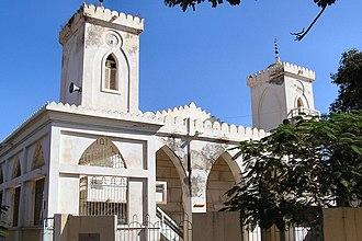 Timeline of Saint-Louis, Senegal - Image: Saintlouis mosquée 2