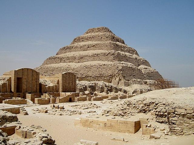 Najstaršie stavby sveta, Sakkara, Egypt