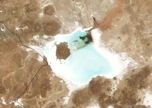 Coipasa Lake - Image: Salar de coipasa