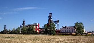 Geography of Belarus - Potash mine near Salihorsk.