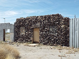 Salome, Arizona - Abandoned Stage Stop in Salome