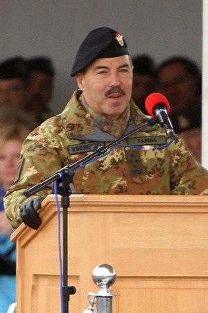 Salvatore Farina (soldier) - Salvatore Farina in 2016