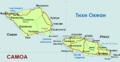 Samoa Country map- Macedonian.png