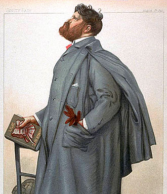 S. R. Crockett - Caricature of author Samuel Rutherford Crockett from the 5 August 1897 issue of Vanity Fair