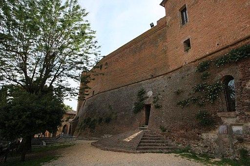 Castle San Giovanni d'Asso, Inner Entrance to the Castle