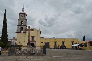 Huandacareo, Michoacán - Parish of San Jerónimo in the town center