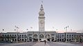 San Francisco Ferry Building during sunset 2016.jpg