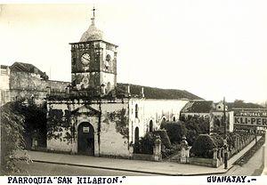 Guanajay - Image: San Hilarion Guanajay, Pinar del Río, Cuba