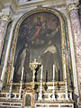 San paolino, transetto sx, Madonna col Bambino, san Giovanni della Croce e Santa Teresa di Francesco Curradi.JPG