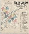 Sanborn Fire Insurance Map from Bethlehem, Northampton And Lehigh Counties, Pennsylvania. LOC sanborn07530 001-1.jpg