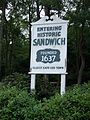 Sandwich (Massachusetts) Town Sign.jpg