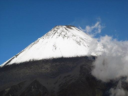 Sangay Volcano in Ecuador Photo by Albert Backer