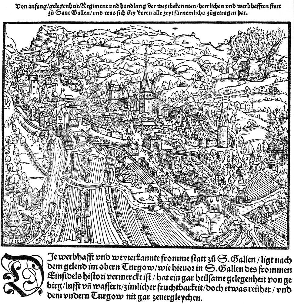 Sankt Gallen Stumpf 1548