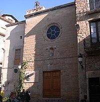 Fachada principal en la plaza de San Juan