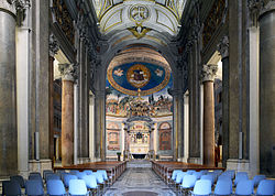 Santa Croce in Gerusalemme (Rome) - interior.jpg