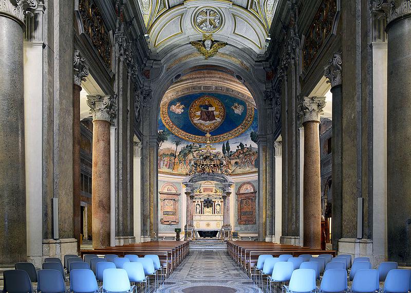 Santa Croce in Gerusalemme (Rome) - interior.jpg