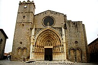 Santa Maria de Castelló d'Empúries - Façana.JPG