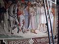 Santa croce, int., cappella maggiore, agnolo gaddi e bottega, affreschi 08.JPG