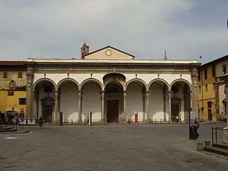 Maria Valtorta - Basilica of Santissima Annunziata, Florence, the mother church of the Servite Order, where Maria Valtorta is buried.