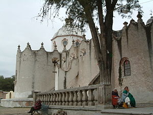 Sanctuary of Atotonilco - Facade of the complex