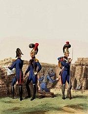 Sapeurs du génie de la Garde impériale, 1810