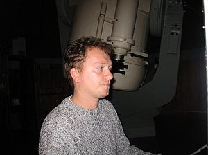 Krisztián Sárneczky - The researcher and asteroid hunter.