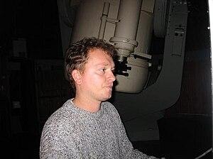 Krisztián Sárneczky - The researcher and asteroid hunter.