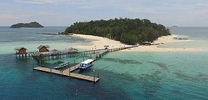 Gorontalo - Image: Saronde Island 1